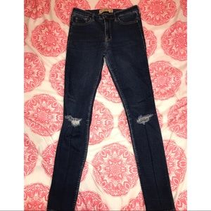 Hollister High-Rise Skinny Jeans